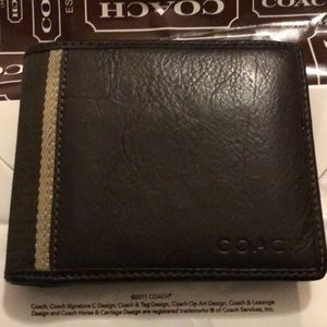 Men's Coach Wallet